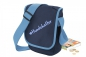 Mobile Preview: Gassitasche blau Hundehalter